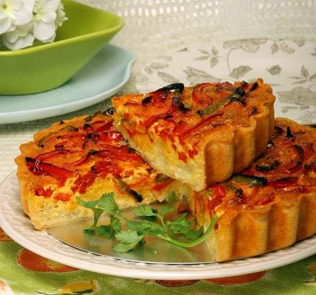 TCGold Tarte de bacalhau com pimentos