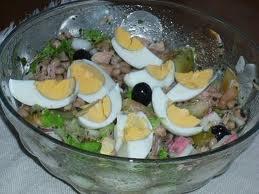 salada feijão